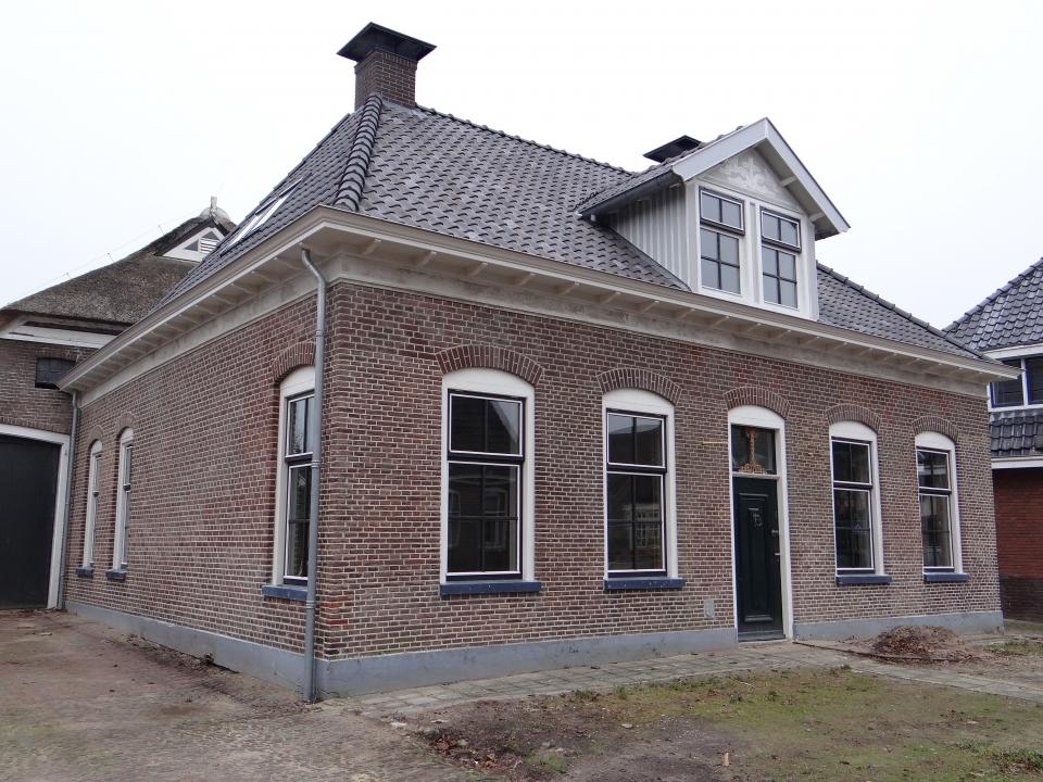 Gevelrestauratie met knipvoeg in Westerbork - De Beuck Gevelrestauratie